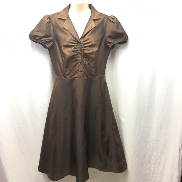 Chocolate Brown Dresses